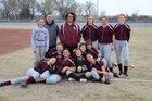 South Haven Cardinals Girls Varsity Softball Spring 17-18 team photo.