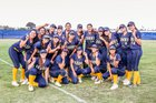 Bonita Vista Barons Girls Varsity Softball Spring 17-18 team photo.