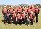 Bradford Eagles Girls Varsity Softball Spring 17-18 team photo.