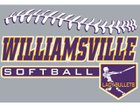 Williamsville Bullets Girls Varsity Softball Spring 17-18 team photo.