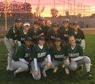 Liberty Ranch Hawks Girls Varsity Softball Spring 17-18 team photo.