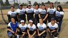 Jordan Panthers Girls Varsity Softball Spring 17-18 team photo.