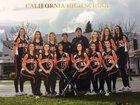 California Grizzlies Girls Varsity Softball Spring 17-18 team photo.