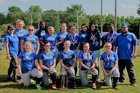 KIPP Pride Pride Girls Varsity Softball Spring 17-18 team photo.