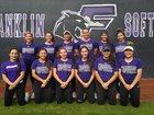 Franklin Cougars Girls Varsity Softball Spring 17-18 team photo.