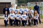 The Bay School Breakers Girls Varsity Softball Spring 17-18 team photo.