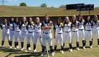 East Ridge Knights Girls Varsity Softball Spring 17-18 team photo.