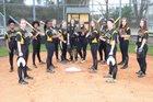 Irmo Yellowjackets Girls Varsity Softball Spring 17-18 team photo.