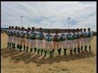 Rancho Rams Girls Varsity Softball Spring 17-18 team photo.