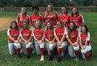 Dunedin Falcons Girls Varsity Softball Spring 17-18 team photo.