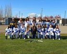 Fife Trojans Girls Varsity Softball Spring 17-18 team photo.