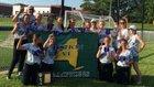 North Collins Eagles Girls Varsity Softball Spring 17-18 team photo.