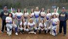 Maine-Endwell Spartans Girls Varsity Softball Spring 17-18 team photo.