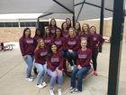 Ennis Lions Girls Varsity Softball Spring 17-18 team photo.