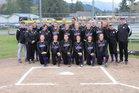 Quilcene Rangers Girls Varsity Softball Spring 17-18 team photo.