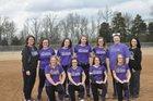 Riverview Raiders Girls Varsity Softball Spring 17-18 team photo.