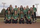 Farmington Scorpions Girls Varsity Softball Spring 17-18 team photo.