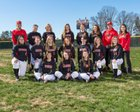 South Point Red Raiders Girls Varsity Softball Spring 17-18 team photo.