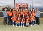 Eldorado Eagles Girls Varsity Softball Spring 17-18 team photo.