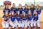 Huntsville Panthers Girls Varsity Softball Spring 17-18 team photo.