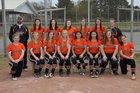 Harrisburg Hornets Girls Varsity Softball Spring 17-18 team photo.