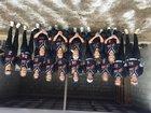 McCrory Jaguars Girls Varsity Softball Spring 17-18 team photo.
