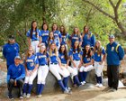 San Pasqual Golden Eagles Girls Varsity Softball Spring 17-18 team photo.
