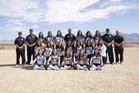 Onate Knights Girls Varsity Softball Spring 17-18 team photo.