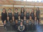 Jasper Pirates Girls Varsity Softball Spring 17-18 team photo.