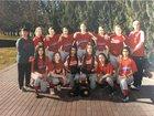 Touchet Indians Girls Varsity Softball Spring 17-18 team photo.