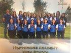 Northridge Academy Pumas Girls Varsity Softball Spring 17-18 team photo.