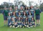DeLand Bulldogs Girls Varsity Softball Spring 17-18 team photo.
