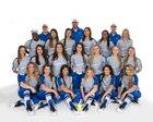 Hebron Hawks Girls Varsity Softball Spring 17-18 team photo.