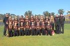 St. Francis Troubadours Girls Varsity Softball Spring 17-18 team photo.