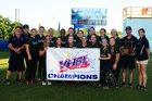 South County Stallions Girls Varsity Softball Spring 17-18 team photo.