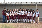 Tularosa Wildcats Girls Varsity Softball Spring 17-18 team photo.