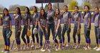 Kirtland Central Broncos Girls Varsity Softball Spring 17-18 team photo.