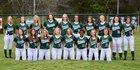 Carter Hornets Girls Varsity Softball Spring 17-18 team photo.