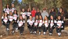 Big Bear  Girls Varsity Softball Spring 17-18 team photo.