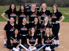 Akron Tigers Girls Varsity Softball Spring 17-18 team photo.