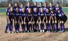 Hazen Hornets Girls Varsity Softball Spring 17-18 team photo.
