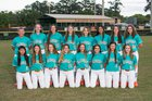 Plant City Raiders Girls Varsity Softball Spring 17-18 team photo.