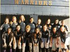 Ruidoso Warriors Girls Varsity Softball Spring 17-18 team photo.