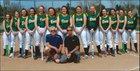 West Seneca East Trojans Girls Varsity Softball Spring 17-18 team photo.