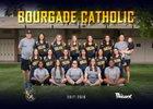 Bourgade Catholic Golden Eagles Girls Varsity Softball Spring 17-18 team photo.