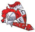 Goode STEM Academy Knights Girls Varsity Softball Spring 17-18 team photo.