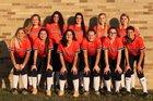 Lemon Bay Manta Rays Girls Varsity Softball Spring 17-18 team photo.