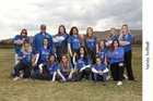 Kiona-Benton Bears Girls Varsity Softball Spring 17-18 team photo.