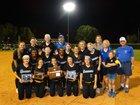 Goodpasture Christian Cougars Girls Varsity Softball Spring 17-18 team photo.