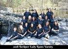 Berkner Rams Girls Varsity Softball Spring 17-18 team photo.
